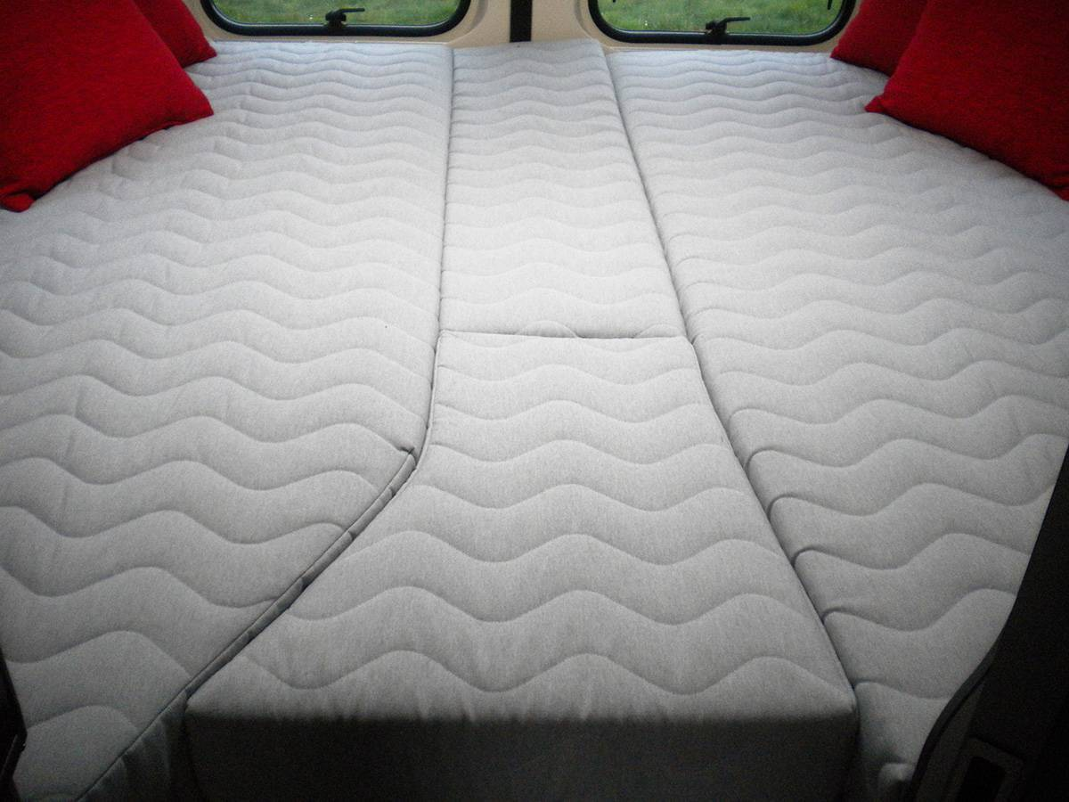 la literie vild mousse matelas camping car mobil home camion et bateau. Black Bedroom Furniture Sets. Home Design Ideas